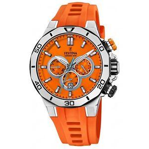 Festina F20449-C Men's Chrono Bike Wristwatch