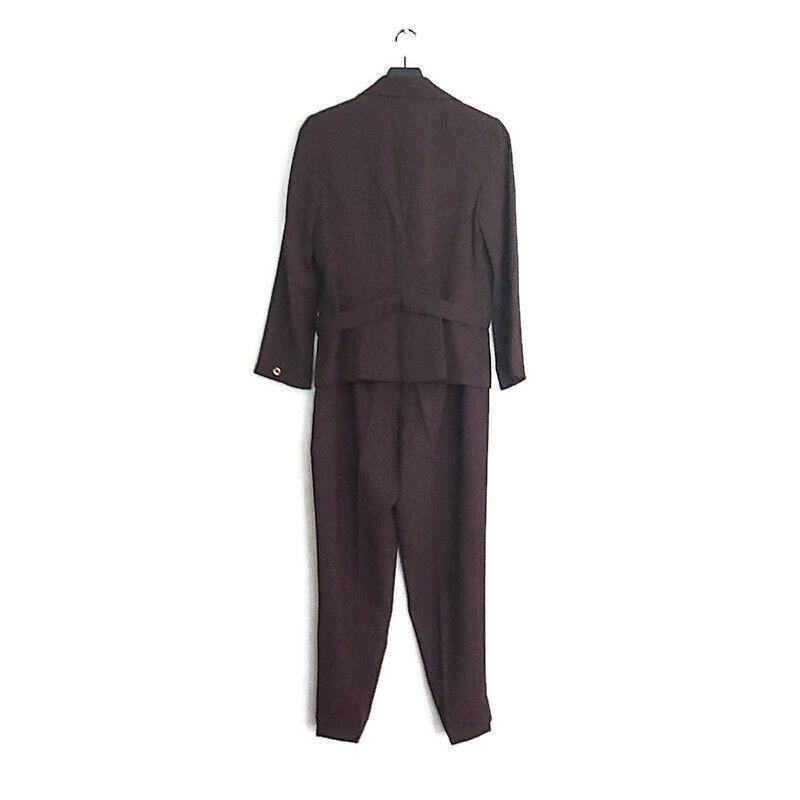 Vintage Dossier Womens Two Piece Pant Suit - image 2