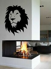 WD Wandtattoo Löwe Lion König Kopf Asien Afrika Wandaufkleber Wohnzimmer Flur