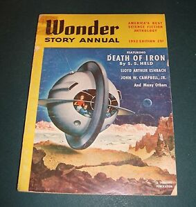 Wonder-Story-Annual-for-1952-Vintage-Pulp-Held-Eshbach-Campbell-Cover-Art