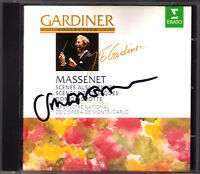 John Eliot GARDINER Signed MASSENET Suite for Orchestra No.4 7 Don Quichotte CD