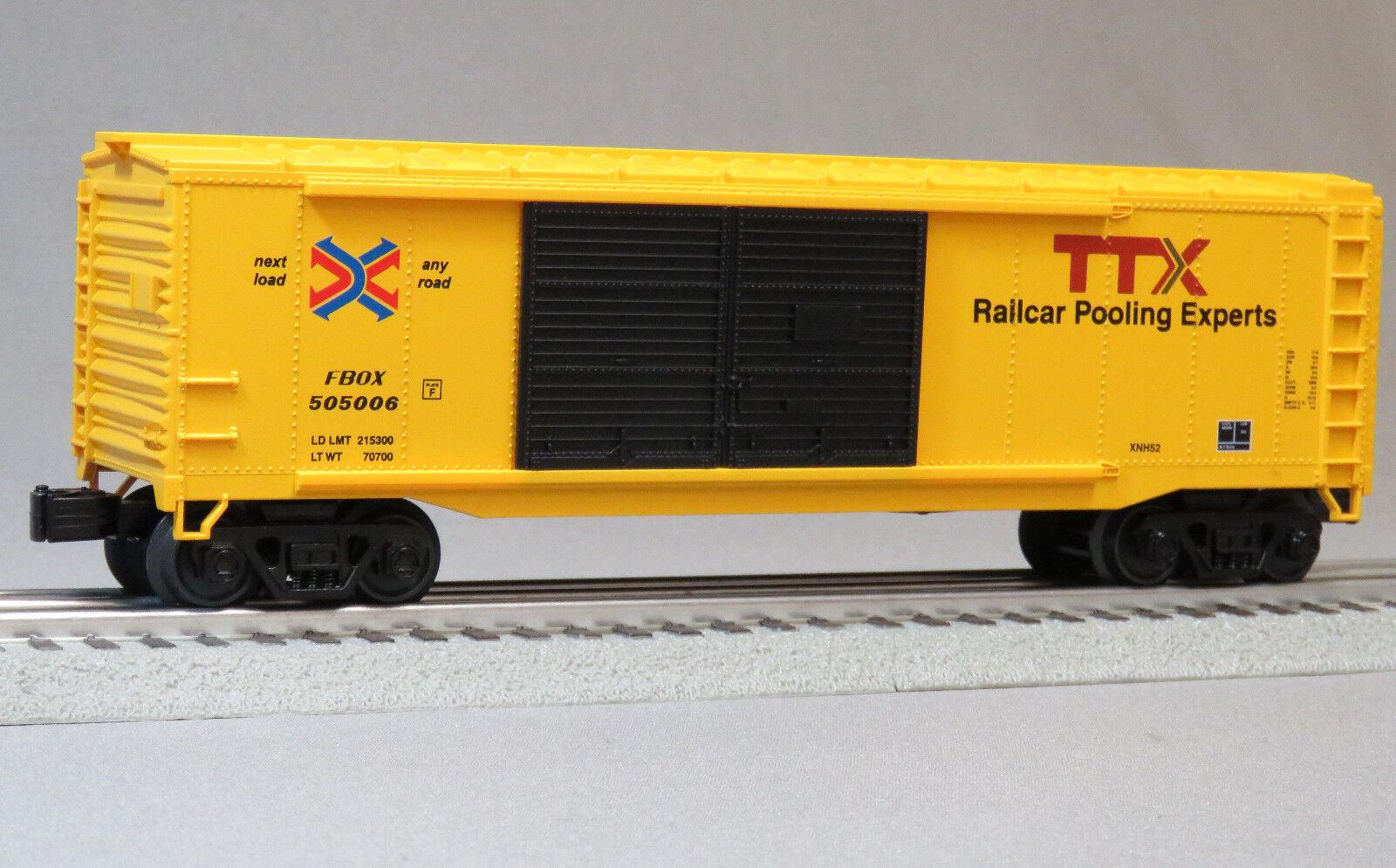 MTH RAILKING RAIL TTX BOXCAR 505006 O GAUGE train freight box car 30-4248-1B NEW