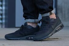 """REGNO Unito misura 11 Nike Air Max BW Ultra BR Sneaker UOMO """"BLACK OUT"""" EU 46 (725222 010)"""