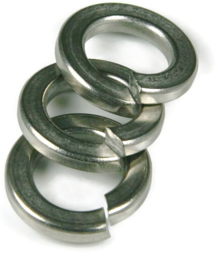 Stainless Steel Lock Washer 3//8 Qty 100