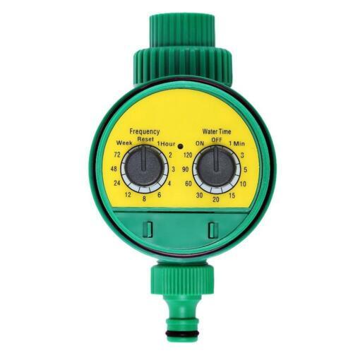 Bewässerungsuhr Digital LCD Automatische Wasser Zeitschaltuhr Timer Garten DE