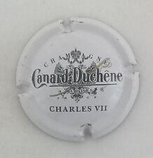 capsule champagne CANARD DUCHENE petit sabre petit 1868 n°66 blanc charles VII