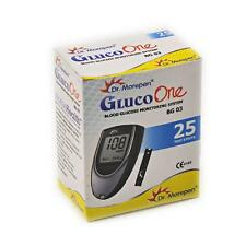 25 Test Strips of Dr. Morepen Gluco One Blood Sugar Meter (BG-03 Auto Coding)