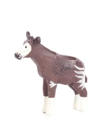 REIFENTIER Okapi NEU Erzgebirge Reifentiere Volkskunst Tiere Pferd Regenwald