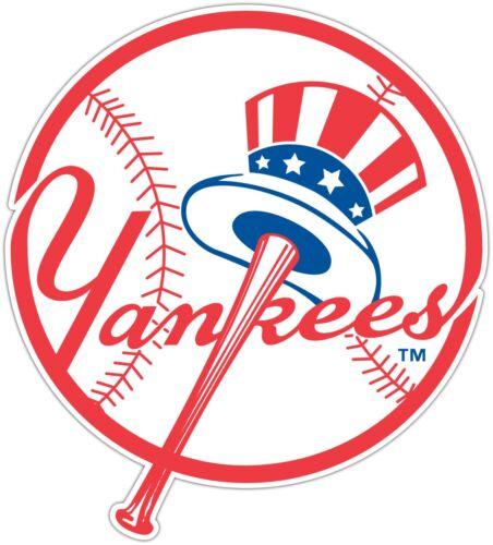 "New York Yankees MLB Baseball Car Bumper Window Sticker Decal 4.2/""X5/"""