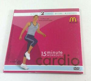 15 Minute Workouts Level 2 Cardio Yourself Fitness McDonalds DVD English Español