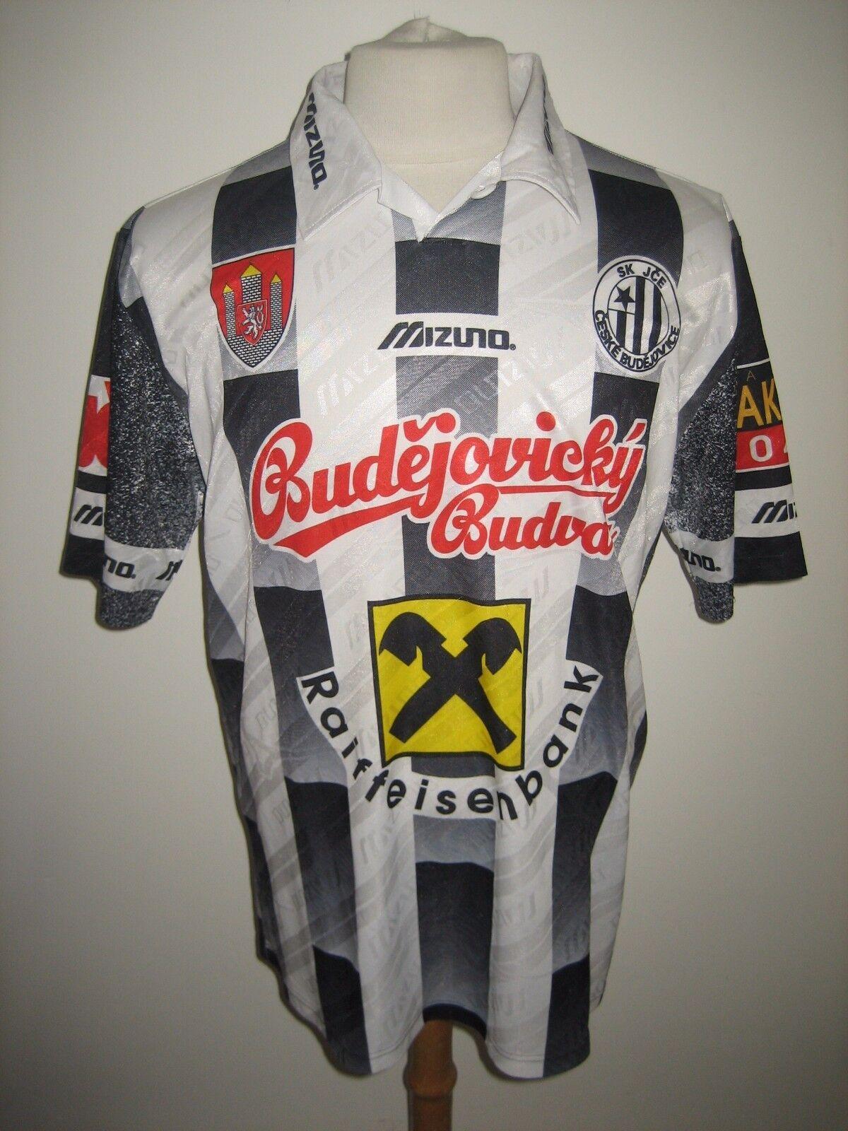 Ceske Budejovice vintage Czech football shirt soccer trikot maillot size L
