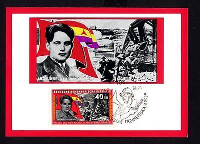 Diverse Philatelie Maximumkarten Dynamisch Ddr 1201 Maximumkarte Artur Becker Kampfszene Aus Der Schlacht Beim Ebro Reisen