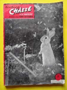 Les-Cahiers-de-Chasse-32-1957-petit-tetras-grue-lapin-ours-chien-chamois-caille
