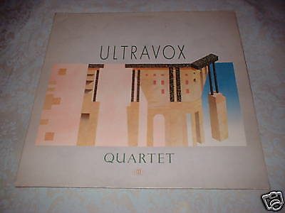 Ultravox Quartet Lp Midge Ure Chrysalis Germany 1982 Ebay