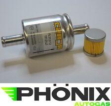 Autogas Filter-Set mit OMB-Einsatz und Gasfilter 12mm-12mm KME LPG