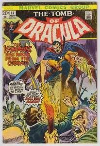 L6431-The-Tomb-Of-Dracula-14-Vol-1-VG-F-Estado