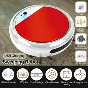 Auto Sweeping Robot Spray Ultraviolet Vacuum Clean Strong Suction Dry Wet Clean
