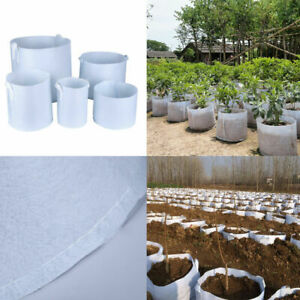 Round-Plant-Pouch-Fabric-Pots-3-Sizes-Root-Container-Grow-Bag-Aeration-Container