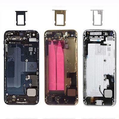For Apple iPhone 5 5s Full Housing Middle Frame Back Battery Cover Back Door New