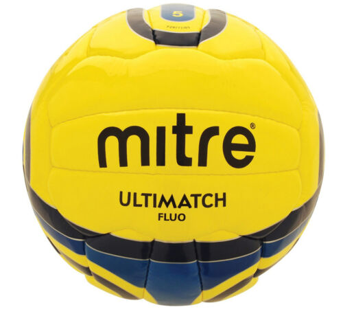 6 x Mitre Ultimatch Fluo Match Football