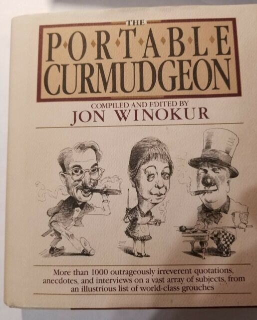 The Portable Curmudgeon (1987, Hardcover)