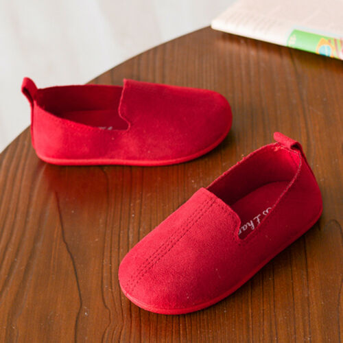 Kids Children Girls Casual Single Shoes Leather Pricness Party Beach Soft Shoes