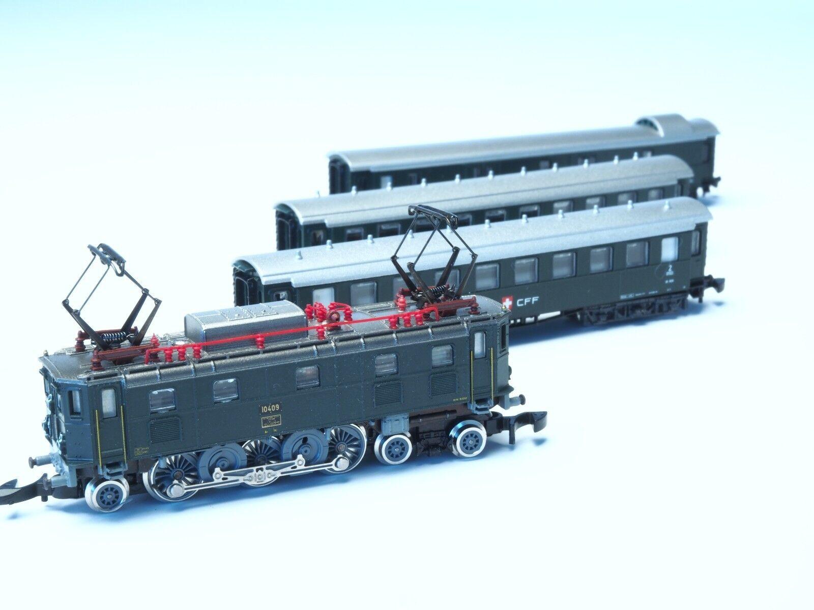 8418 Marklin Z -skala SBB Schweiz Passagerarklass Ae 3  6 II