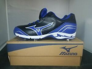 sports shoes 7457c adeb8 Image is loading Mizuno-Mens-9-Spike-Advanced-Classic-7-Black-