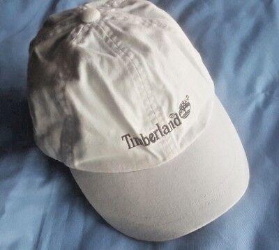 Sizes 4-8yrs Boys Designer Timberland Denim Blue Peak Cap BNWT RRP £16.99