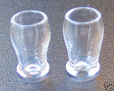 1:12 Scala 2 Mezza Pinta Beer Glasses Tumdee Casa Delle Bambole Miniatura Bere Gla20h-mostra Il Titolo Originale Sapore Fragrante (In)