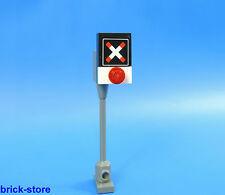 LEGO® City / 60051 City / Eisenbahn  Andreaskreuz für Bahnübergang / 1 Stück