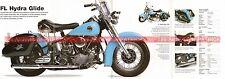 HARLEY DAVIDSON FL 1200 Hydra Glide 1953 Fiche Moto 000494