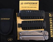 Leatherman Wave 831809 Multi-Tool, Stainless Steel / Nylon Sheath + 42 Bit Kit