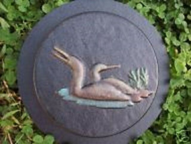 """Seahorse stepping stone mold plaster concrete mould  1/"""" x 1/"""" th ick"""