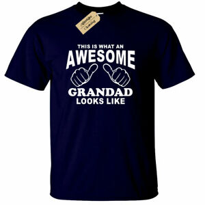 Awesome-GRANDAD-T-Shirt-Mens-Funny-gift-Present-Fathers-day