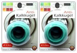 2x-Antikalk-Waschkugel-5-5-cm-Antikalk-Ball-Waschball-Magnetkugeln