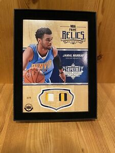 2016-17-Upper-Deck-Supreme-Hard-Court-Jamal-Murray-Double-Jersey-75-Prime-Relic