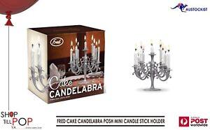 Image Is Loading FRED CAKE CANDELABRA POSH MINI CANDLE STICK