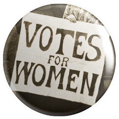 Votes For Women Button Pin Badge 25mm 1 Inch Feminism Feminist