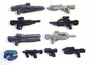 BRICKARMS Value Pack #9 Weapon Pack w// Random Sci Fi Weapon for Minifigures NEW