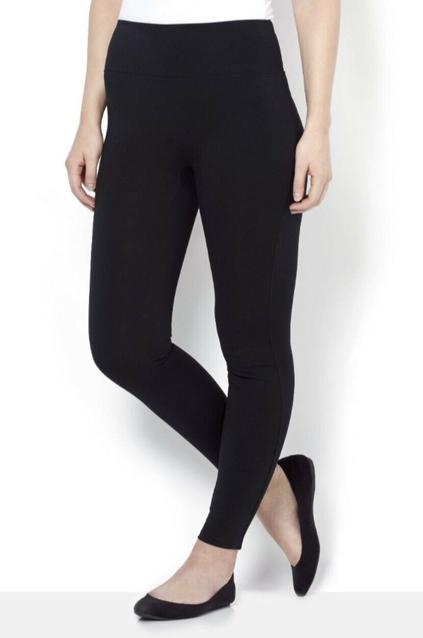 Assets by Spanx Ponte Structured Legging XL Slimming Stretch Pants Shaping