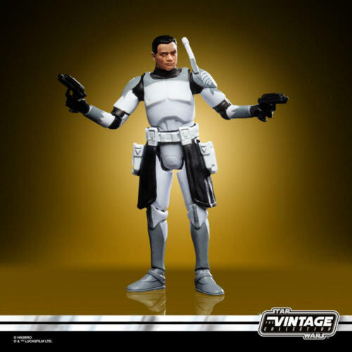 Hasbro STAR WARS The Vintage Collection Clone Commander Wolffe Neu /& OVP
