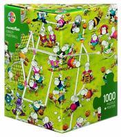 Heye Jigsaw Puzzle Mordillo: Crazy Football 1000 Pc Comics Triangular Box 29091