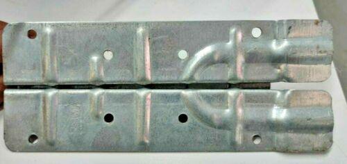 SKRUVIA Steel Pallet Collar Frame Hinges 220mm without rivets made in Sweden