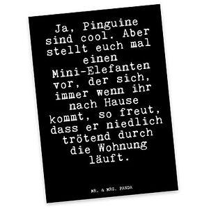 Postkarte Elefant Spruch Lustiger Spruch Geschenk Freund Ebay