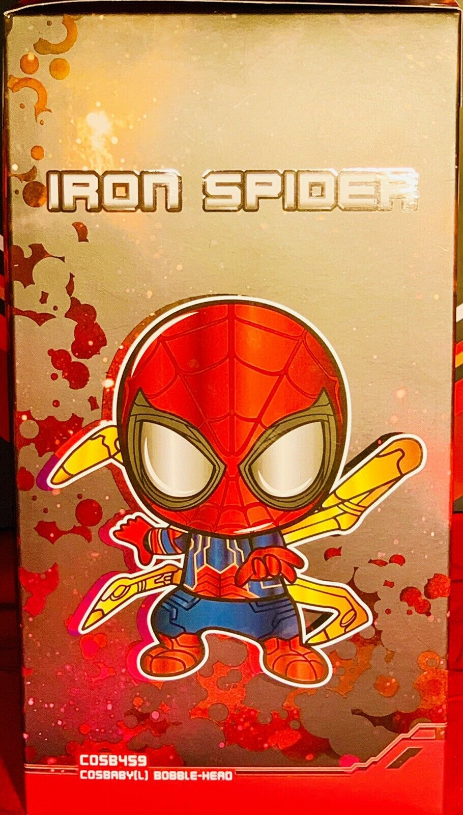 Hot Toys Cosbaby L Avengers Infinity War IRON SPIDER del 459