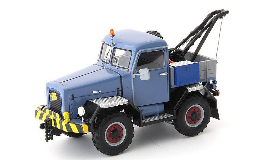 Kramer U800 Allrad Abschlepp-lkw Pastel 1959 blu   grigio 1 43 Model AUTOCULT