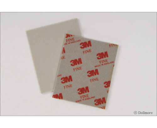 FINE Dollmore BJD Tool 3M FINISHING ABRASIVES First stage