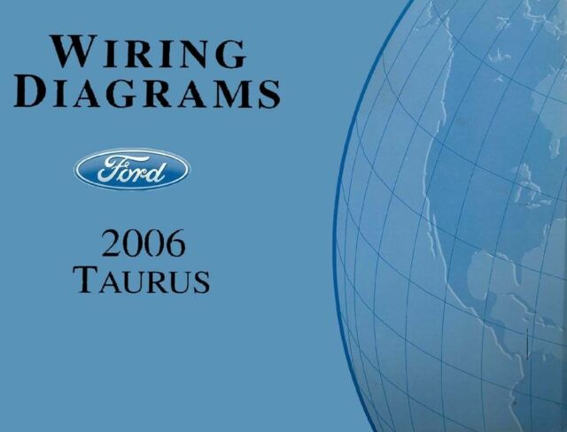 2006 Ford Taurus Wiring Diagrams Schematics