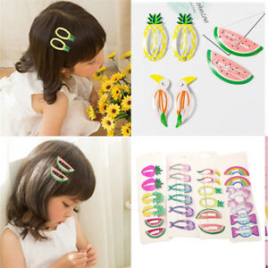 6Pcs-set-Girls-Kids-Lovely-Hair-Clips-Snaps-Hairpin-Baby-Hair-Bow-Accessories